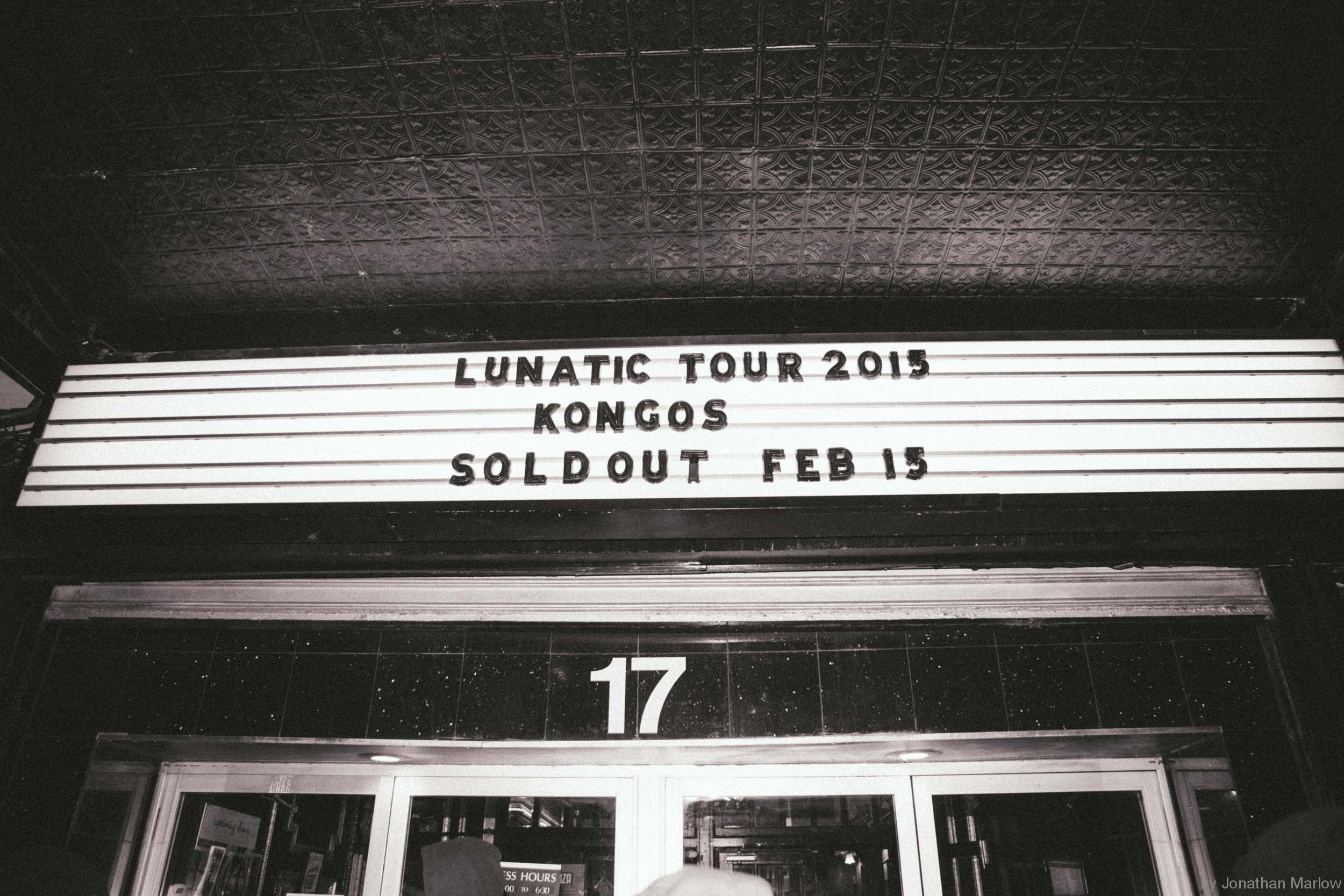 "Kongos Lunatic Tour New York City Irving Plaza ""Sold Out"""