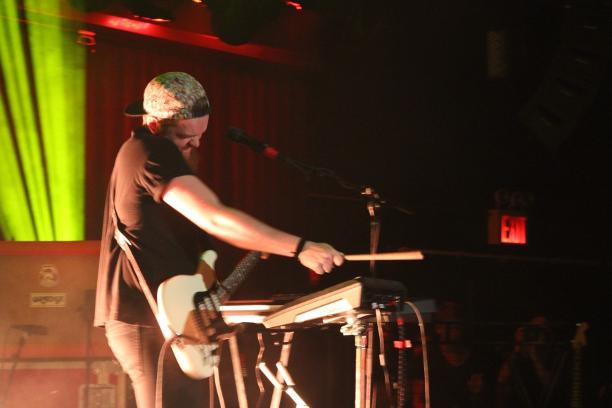 Jack Garratt performs at (le) poisson rouge in NYC, 5/28/2015