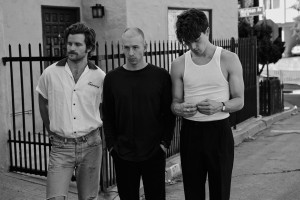 LANY (from left to right): Jake Goss, Les Priest, and Paul Klein