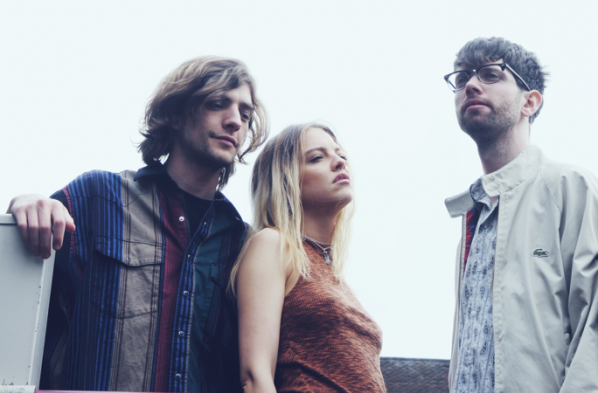 Anteros are Laura Hayden (center) and Josh Rumble (right)