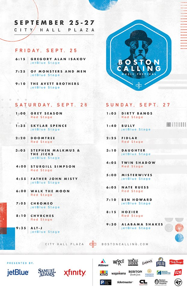 Boston Calling Fall 2015