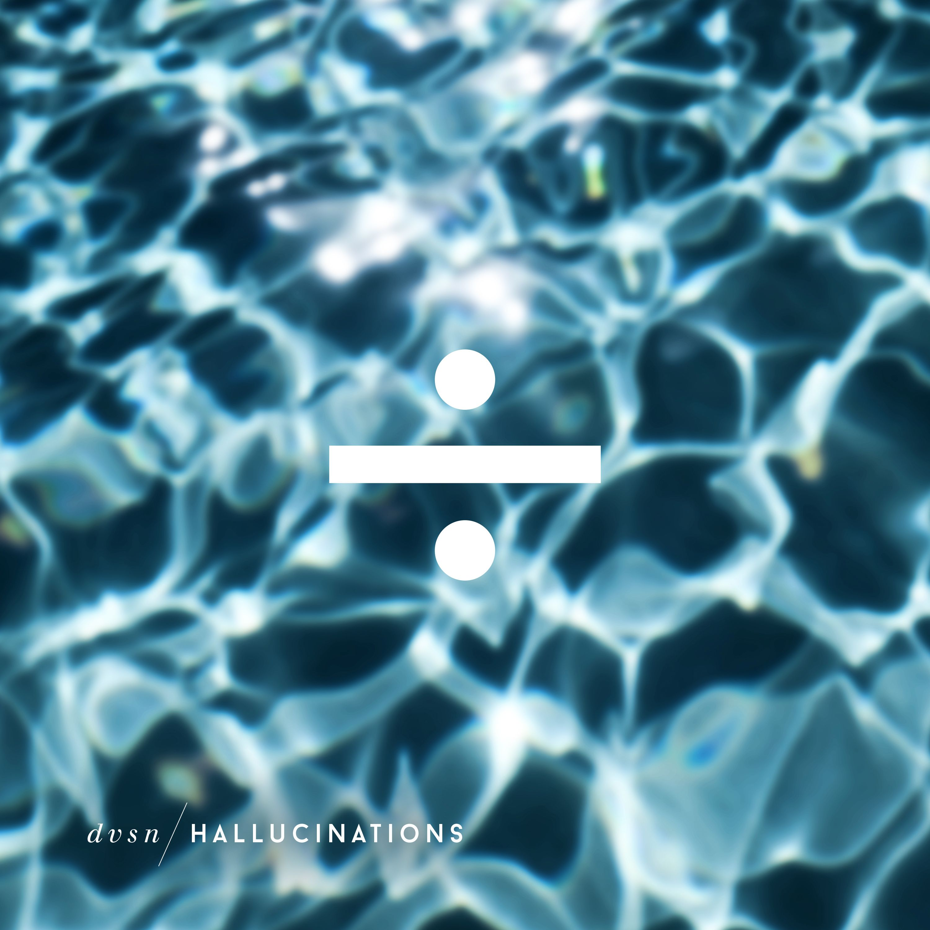 """Hallucinations"" by DVSN single art"