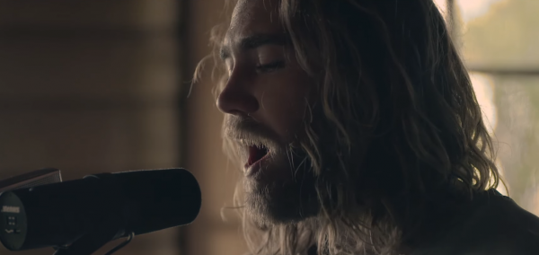 "Screenshot from Matt Corby's ""Monday"" music video"