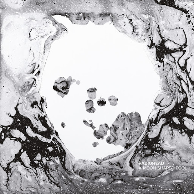 A Moon Shaped Pool - Radiohead album art
