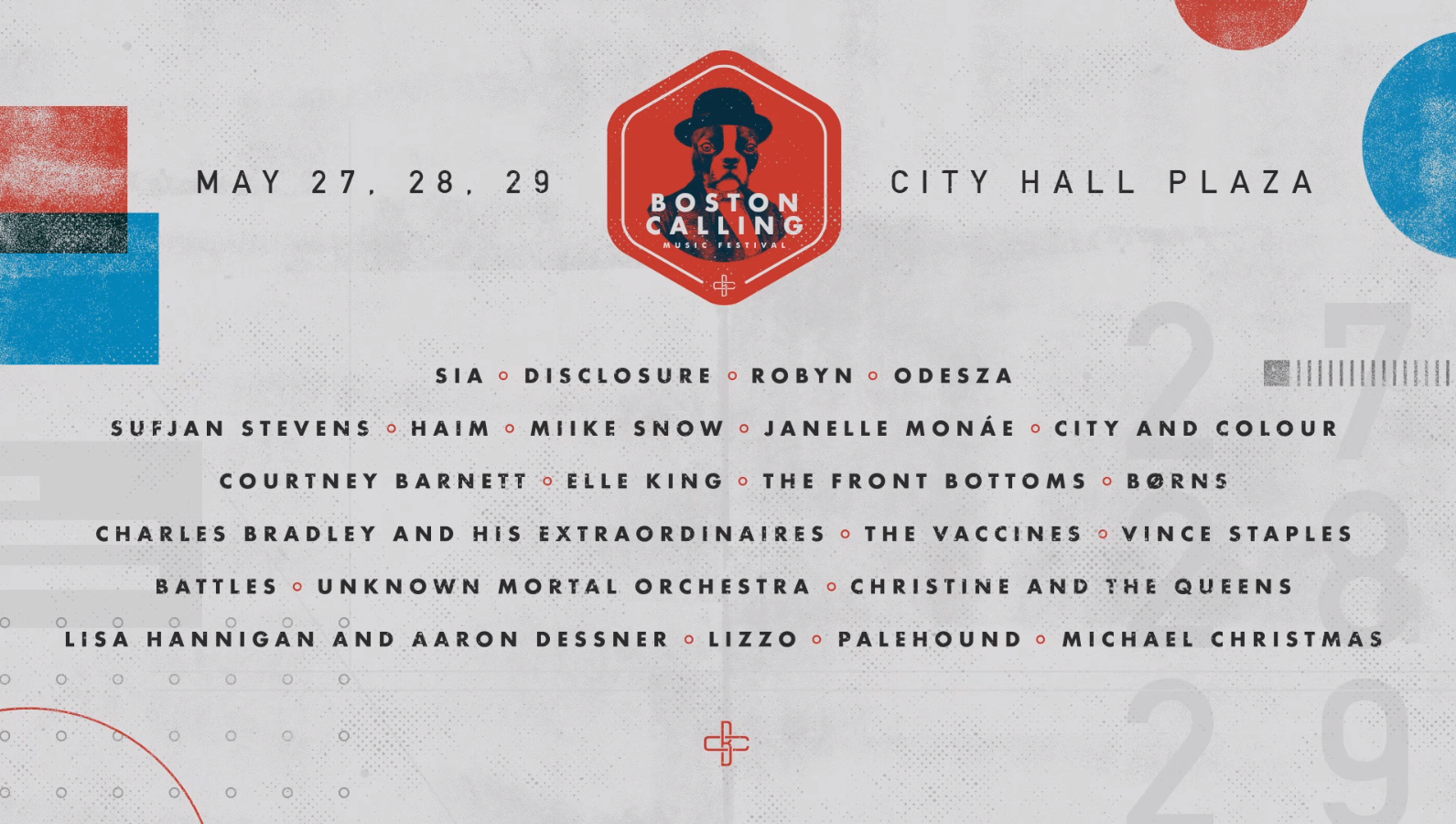Boston Calling May 2016 Lineup