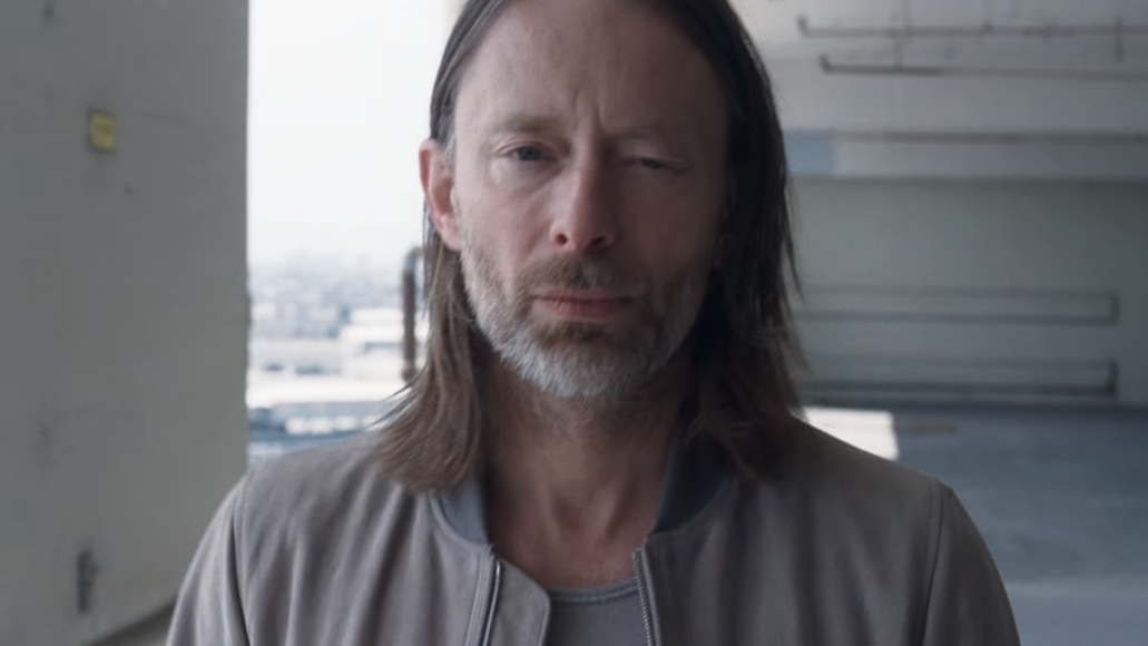 Screenshot from Radiohead's