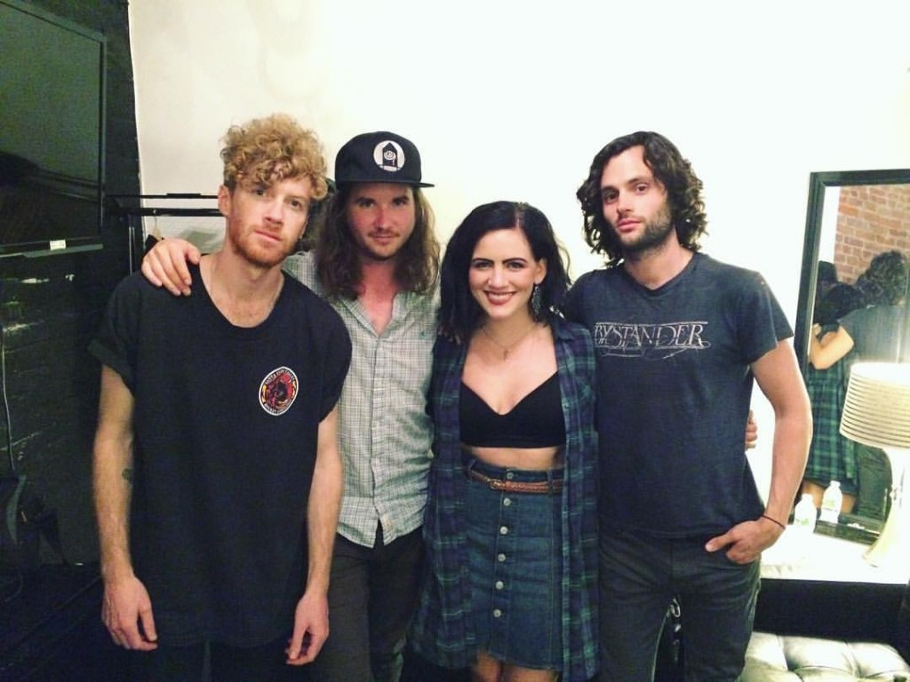With MOTHXR at Terminal 5 in NYC, 15 June 2016