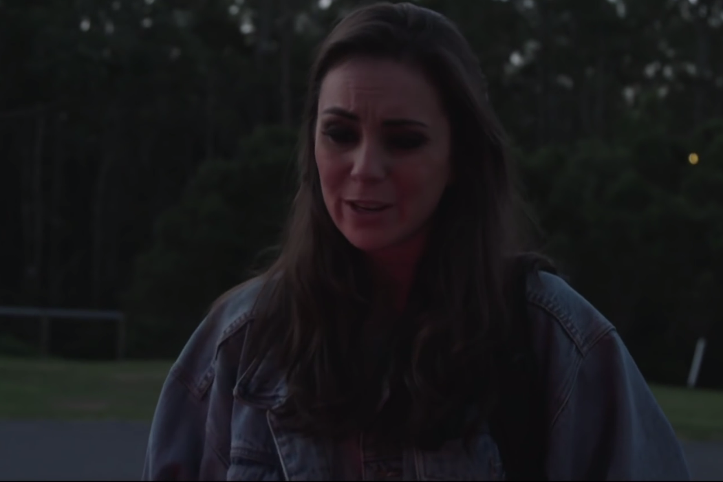 "still from Amy Shark's ""Adore"" music video"