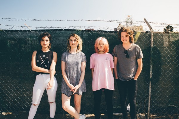 Hey Violet is Rena Lovelis, Nia Lovelis, Miranda Miller, and Casey Moreta