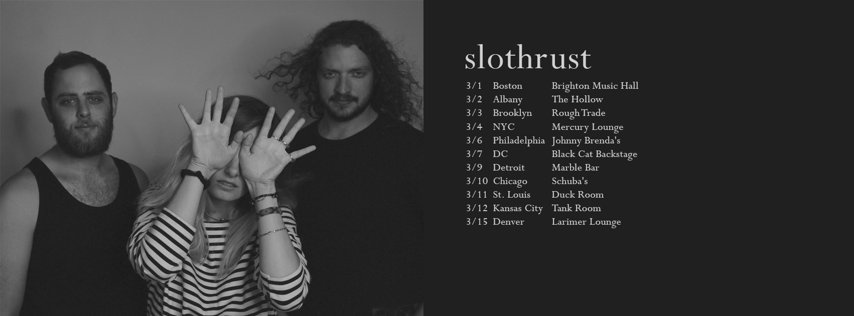 Slothrust 2017 tour dates