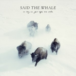 As Long As Your Eyes Are Wide - Said The Whale
