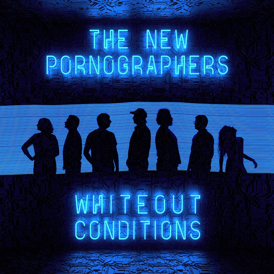 The New Pornographers - Whiteout Conditions album art