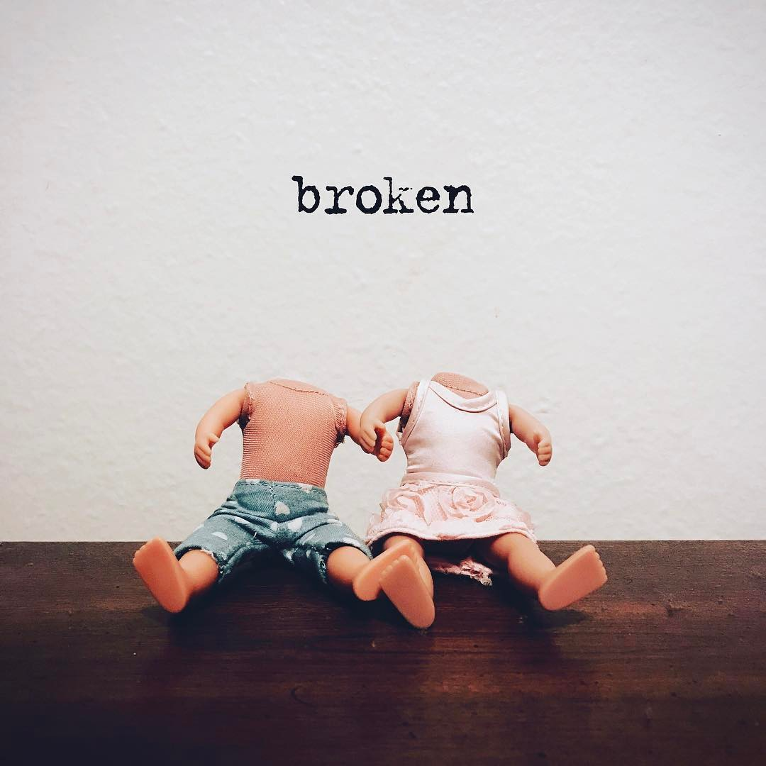 broken - lovely.the.band single art