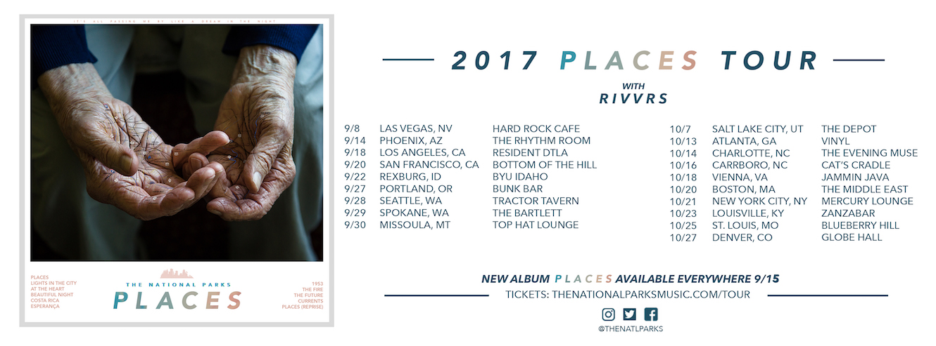 The National Parks Tour 2017