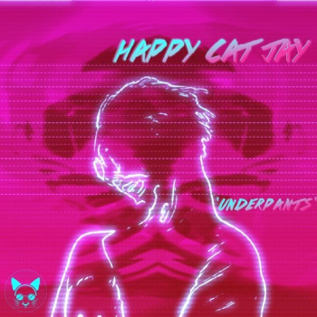 Underpants - Happy Cat Jay