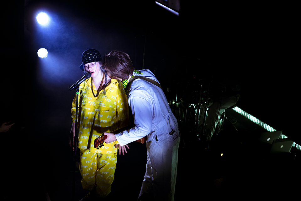 Billie Eilish and FINNEAS 2018 © Nicole Almeida