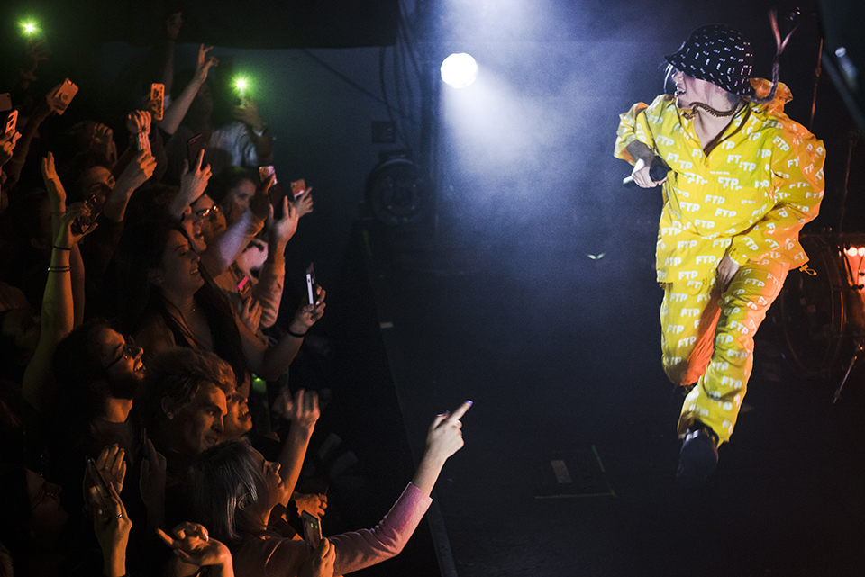 Billie Eilish 2018 © Nicole Almeida