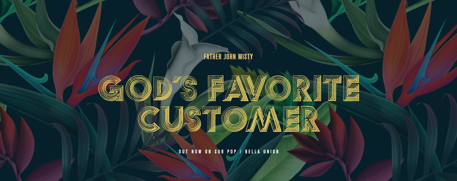 God's Favorite Customer banner