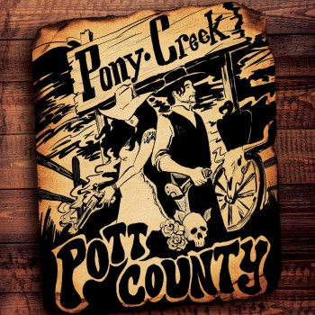 Pott County - Pony Creek art