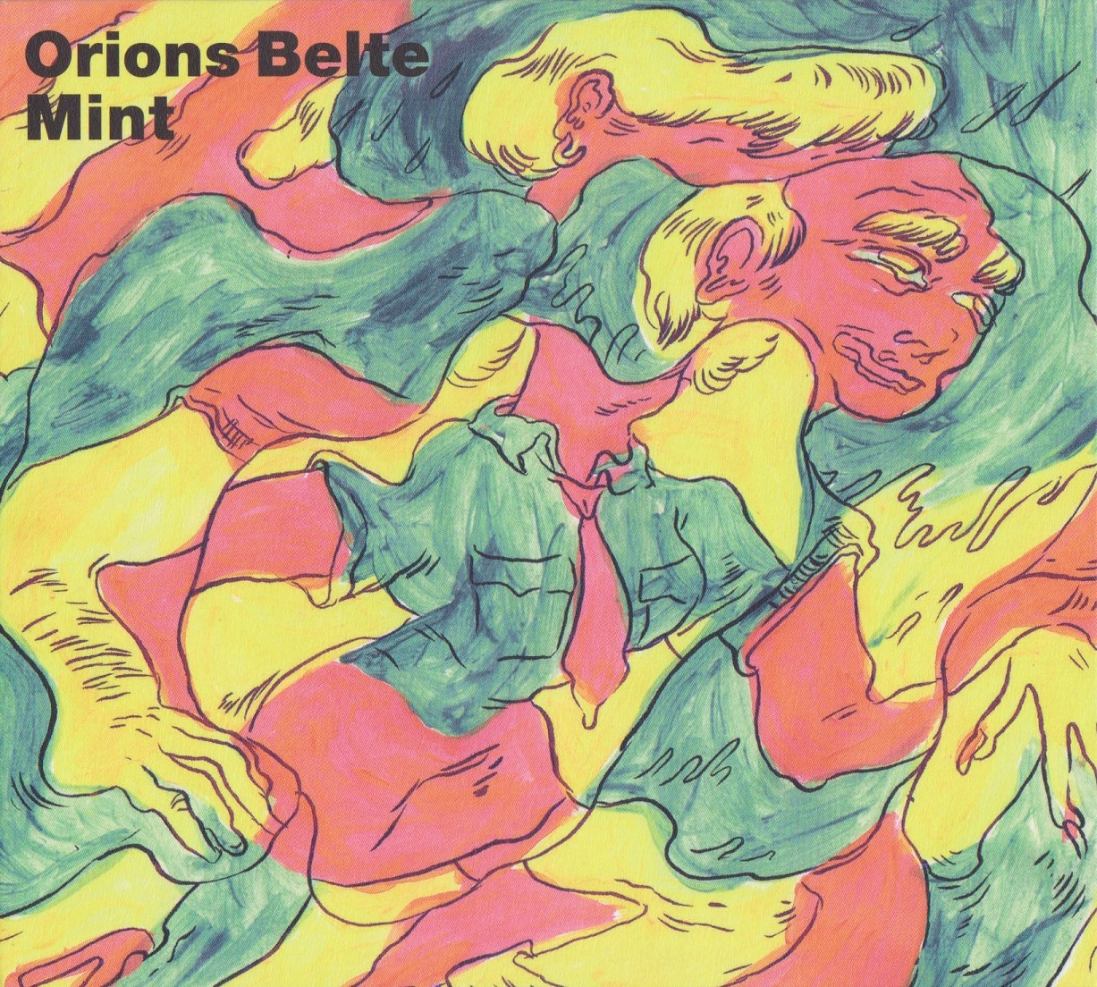 Orions Belte - 'Mint' Album Artwork © Steph Hope