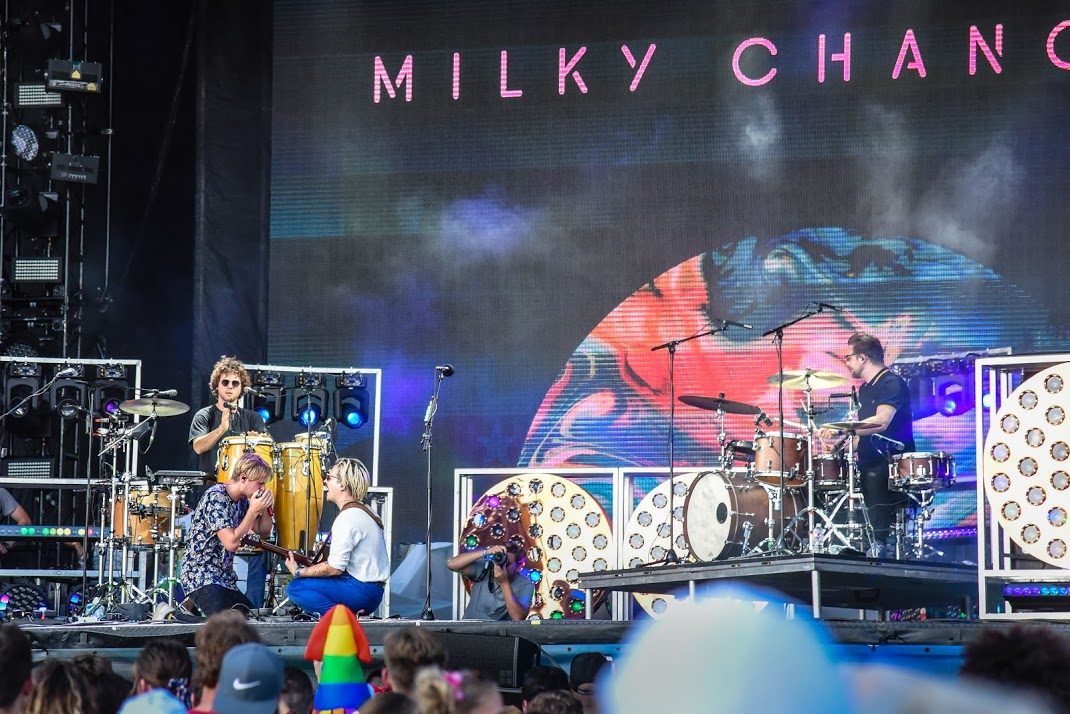 Milky Chance performs at Mempho Music Festival 2018 © Baylee Less