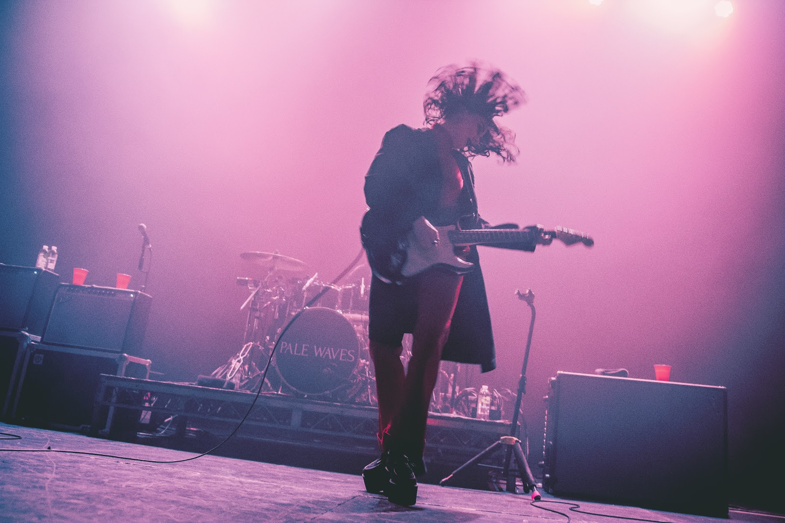 Pale Waves Live at The Fonda Theatre, Los Angeles 2018 © Caitlin Ison