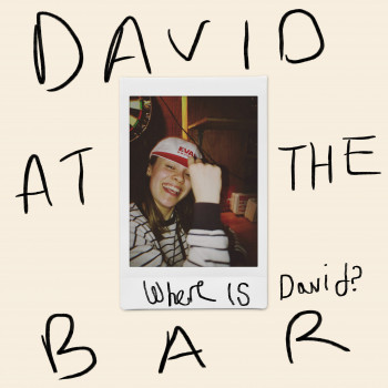 David At The Bar - Jerry Williams art