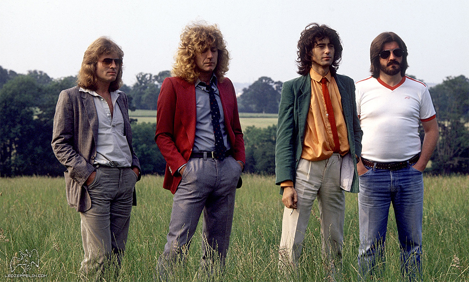 Led Zeppelin Knebworth 1979 promo from ledzeppelin.com