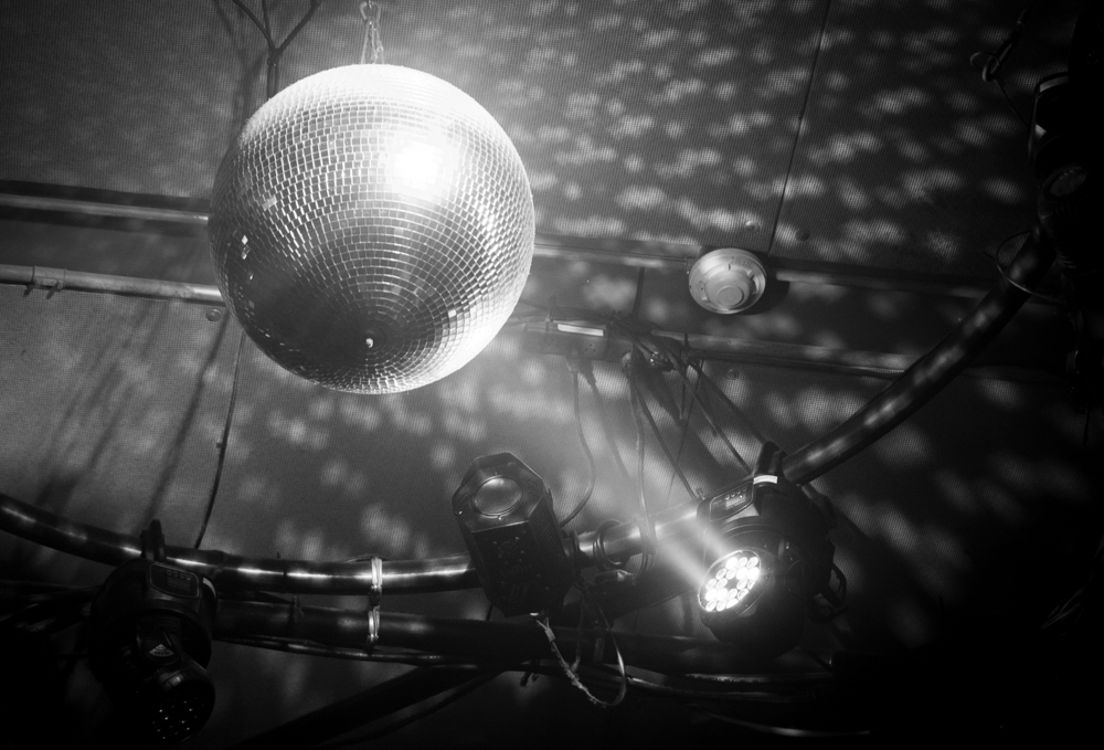 Disco Ball at Johnny Brenda's © Natalie Crane