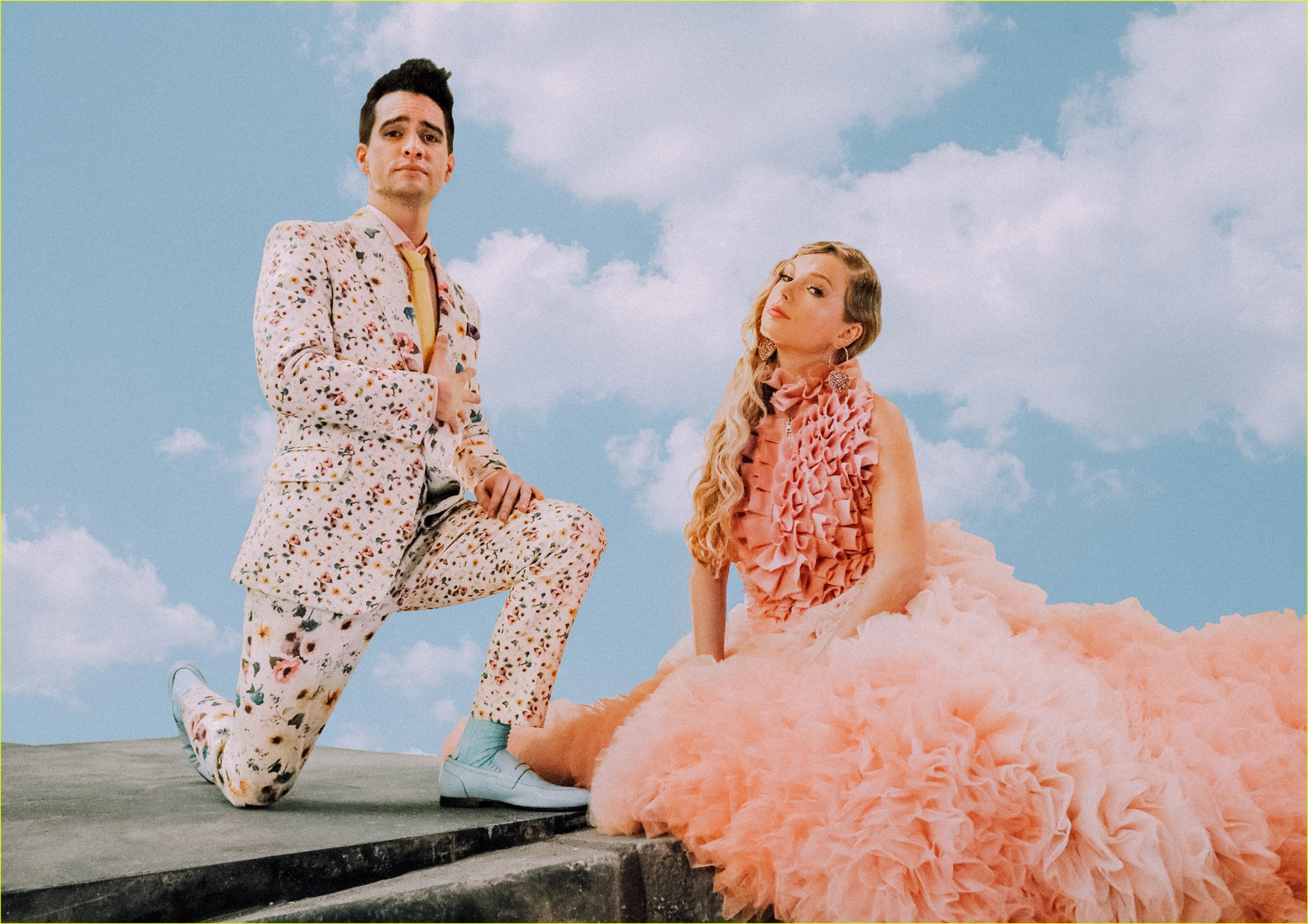 Taylor Swift and Brendon Urie © Valheria Rocha