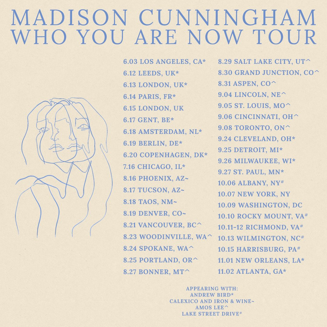 Madison Cunningham Tour 2019