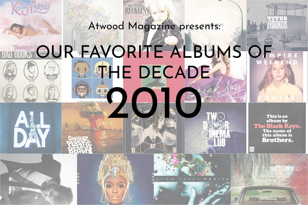 Atwood Magazine's Favorite Albums of 2010