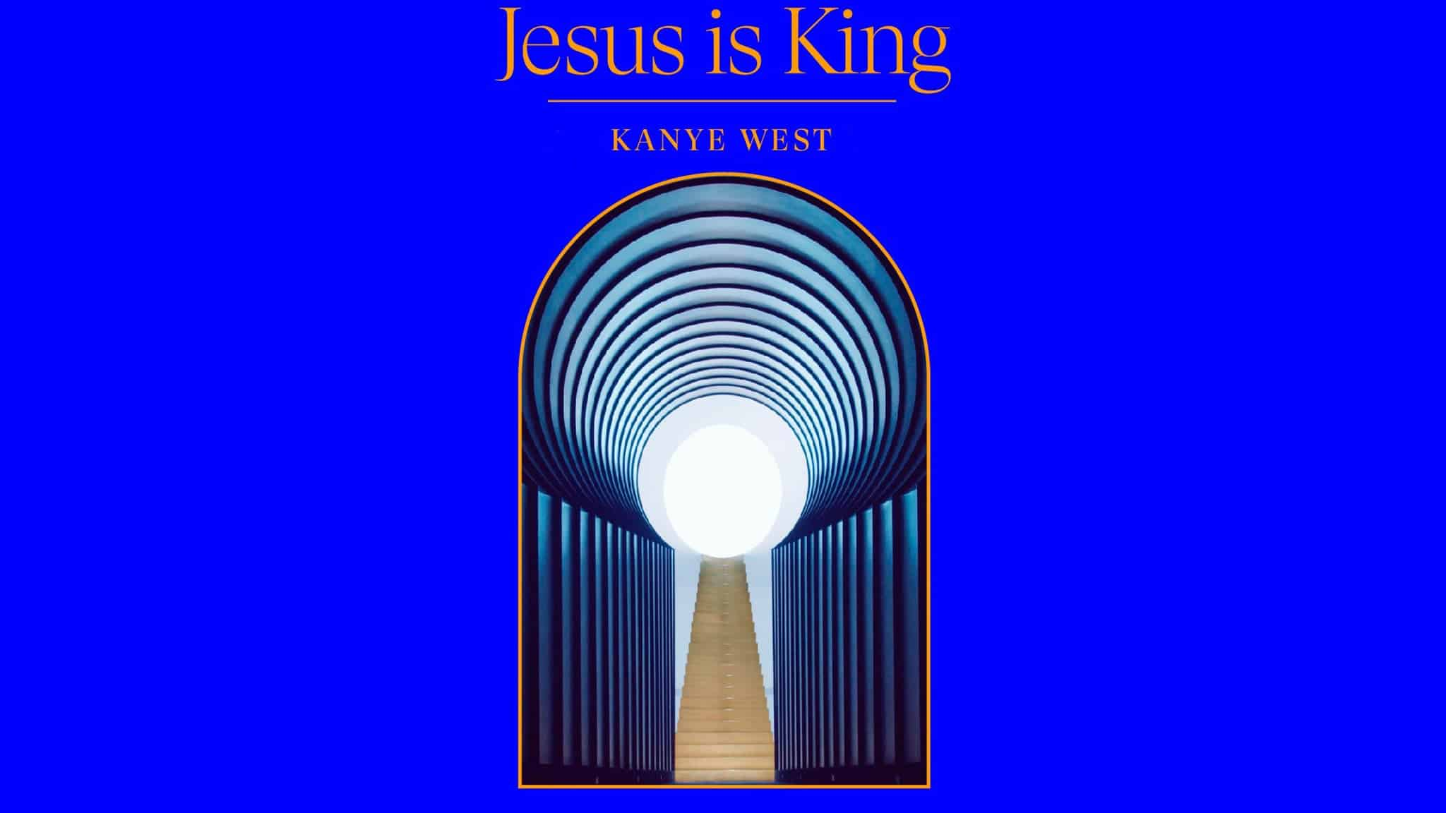 'Jesus Is King' poster