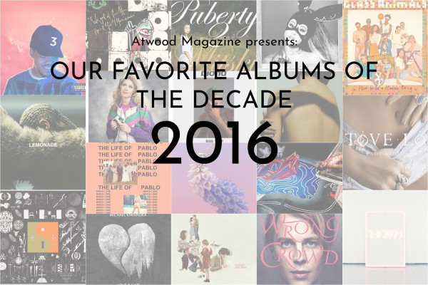 Our Favorite Albums of 2016