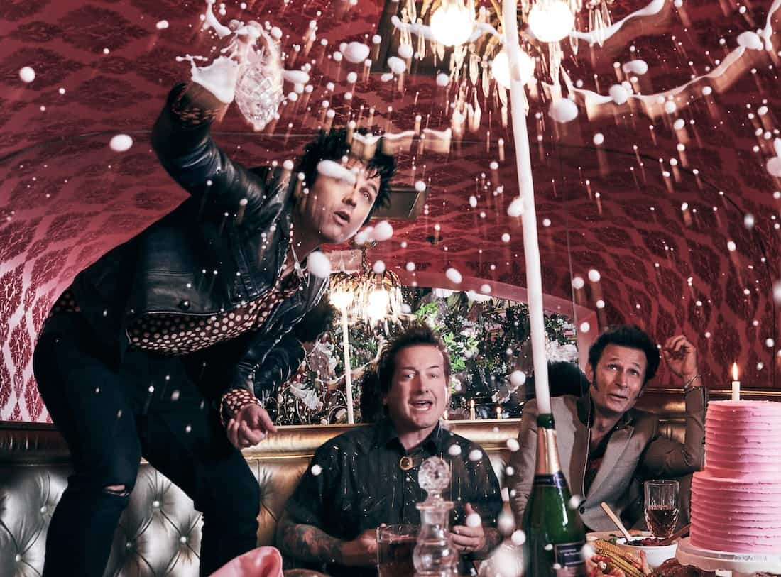 "Green Day ""champagne"" © Pamela Littky"
