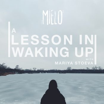 """A Lesson In Waking Up"" Cover Art - Mielo feat. Mariya Stoeva"