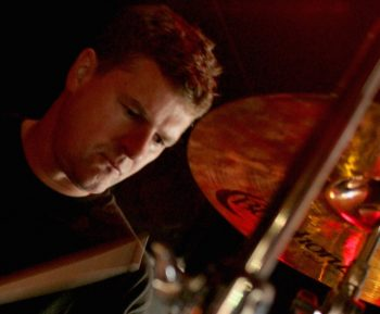 Paul Campbell drumming
