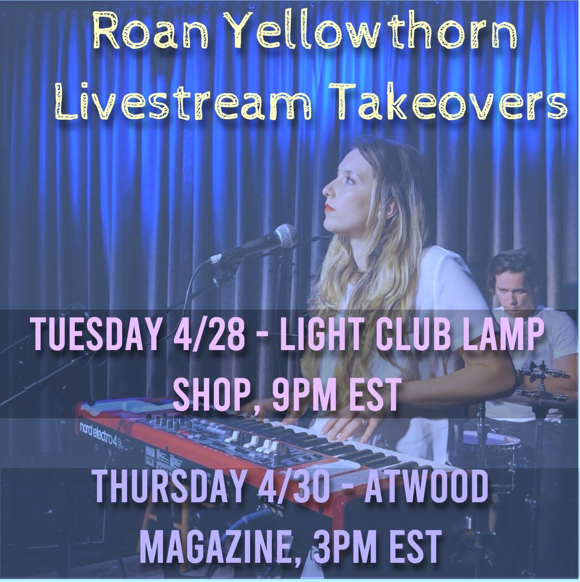 Roan Yellowthorn's upcoming takeovers