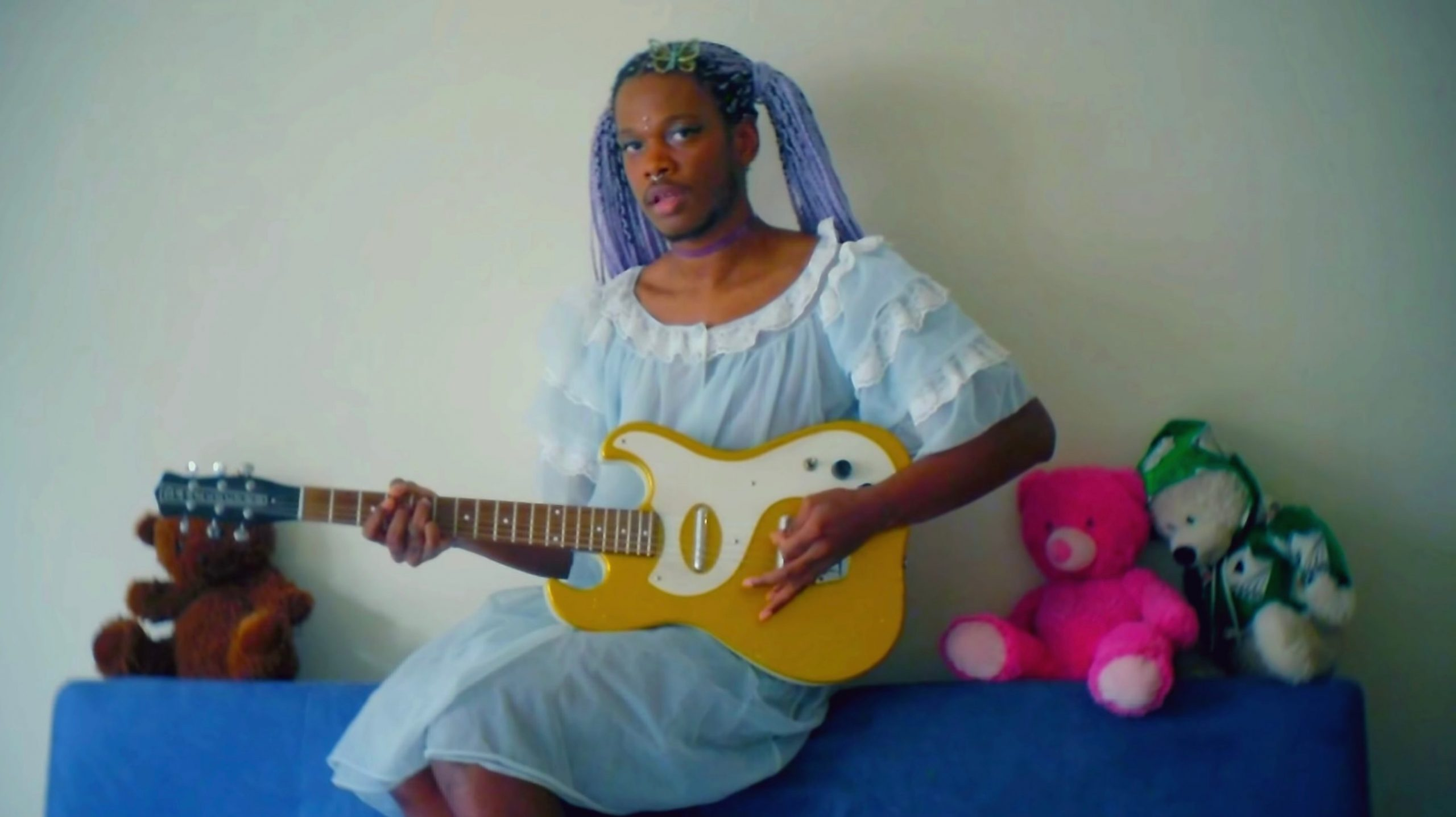"Shamir ""On My Own"" video stills"
