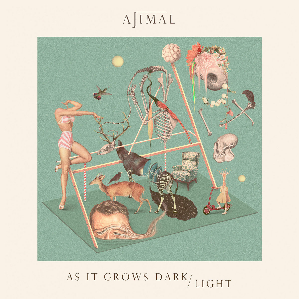 As It Grows Dark / Light - AJIMAL