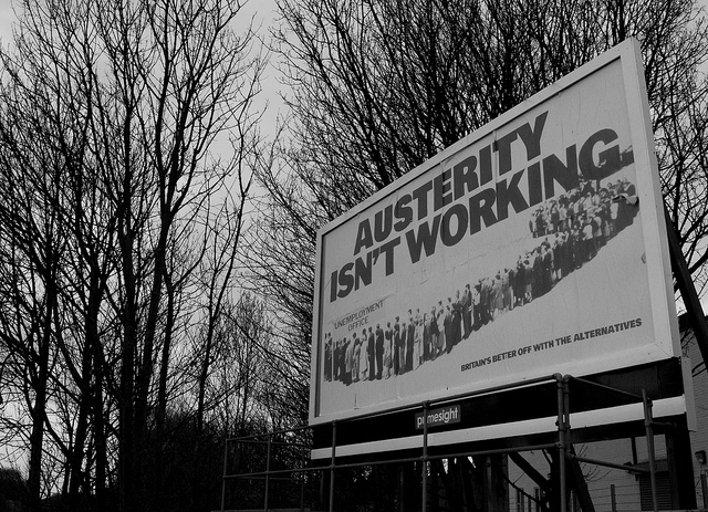 Austerity isn't working © Michael K Donnelly