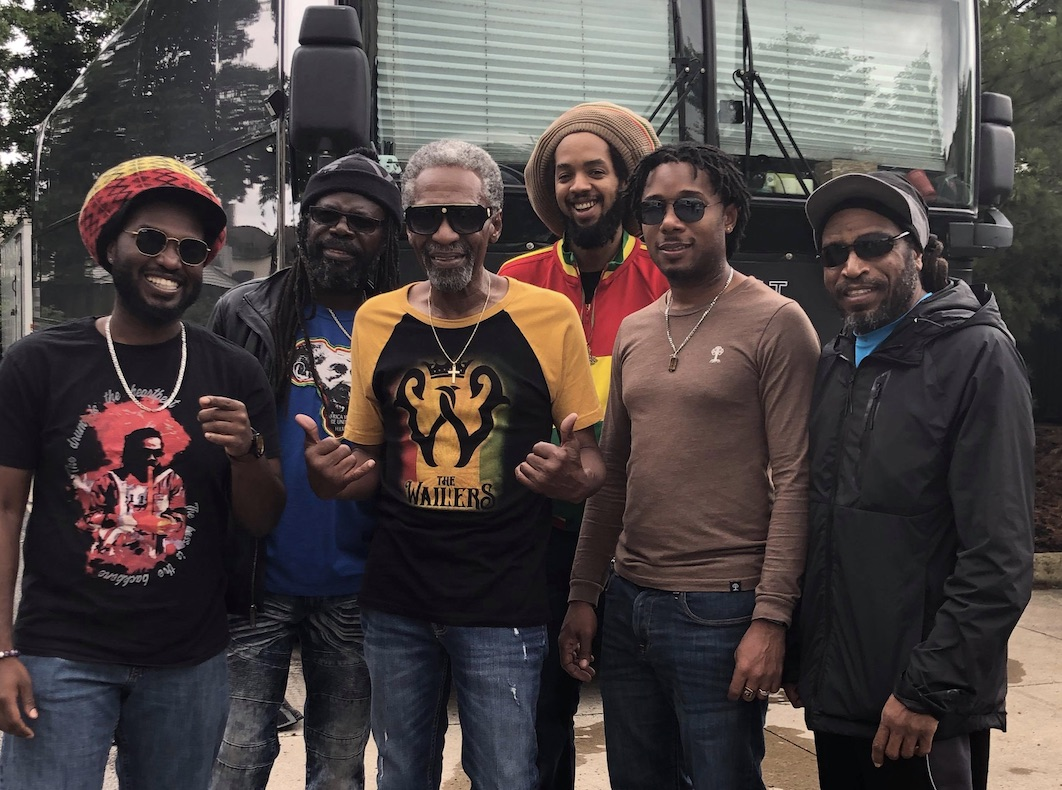 The Wailers on tour