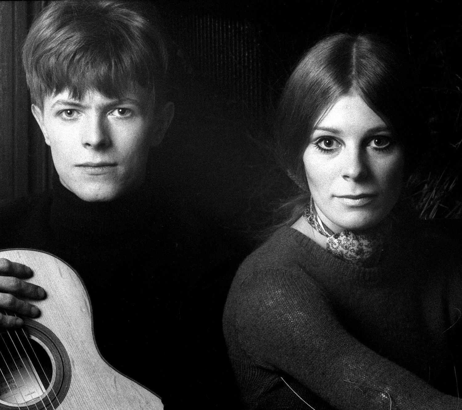David Bowie and Hermione Farthingale © 1968