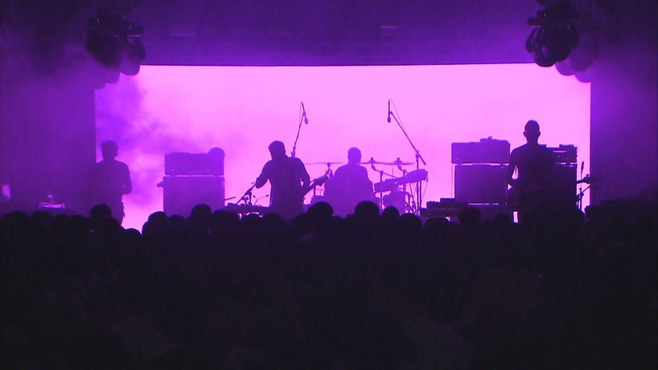 65daysofstatic are known for their energetic, intense live shows