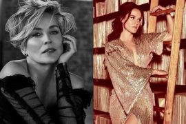 Sharon Stone x Hayley Sales