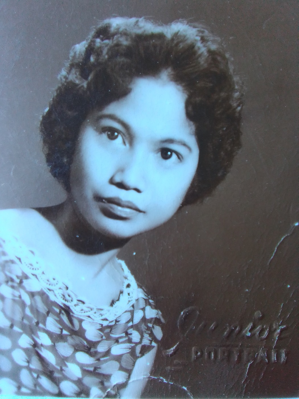 My grandmother Leticia shortly after moving to the United States (Calvin Langman)