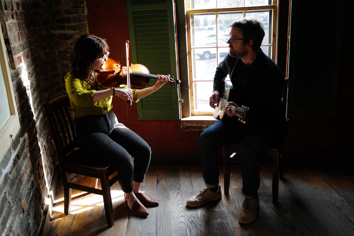 The Witherbees' Mike Lorenz and Jacqui Armbruster
