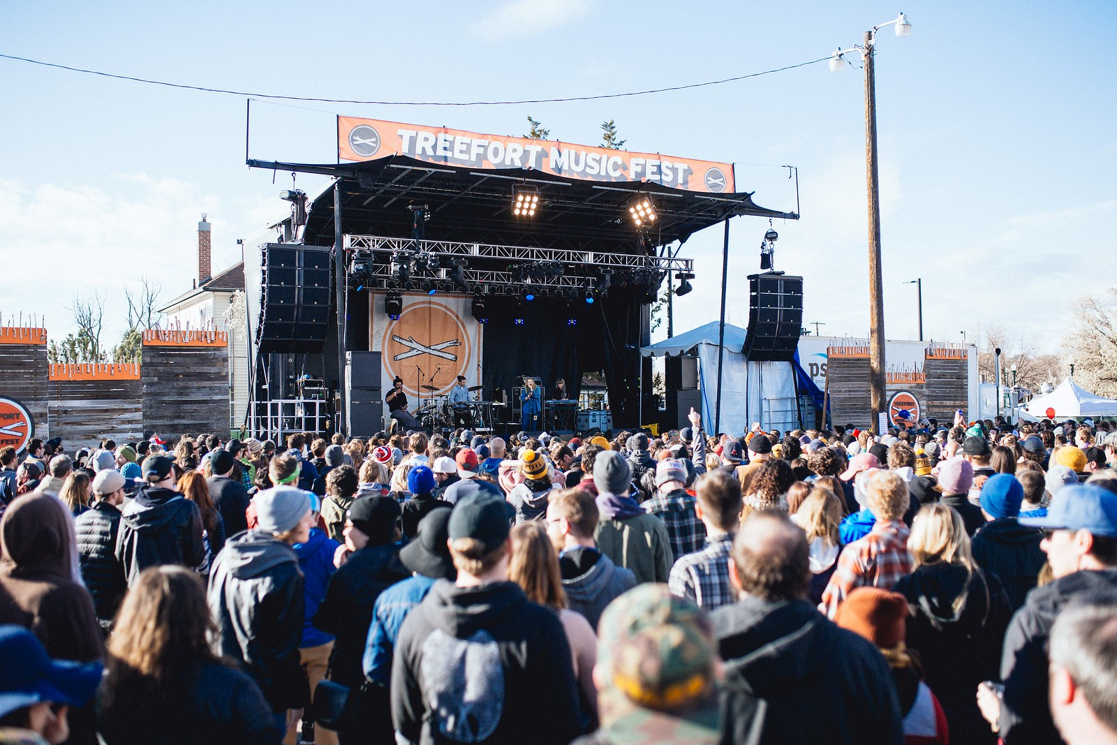 Kate Tempest performs at Treefort Music Fest 2019 © Matthew Wordell